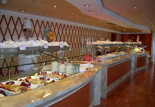 buffet costa crociere msc crociere