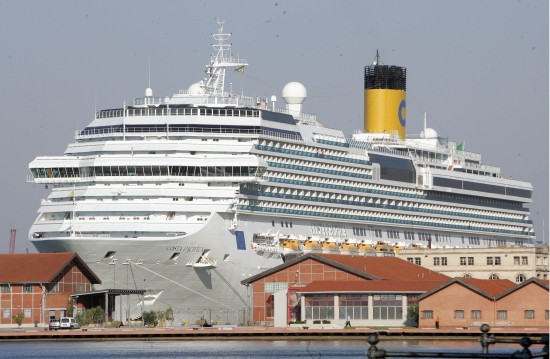 costa pacifica in porto