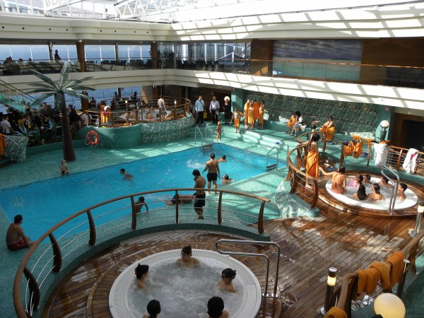 msc splendida piscine
