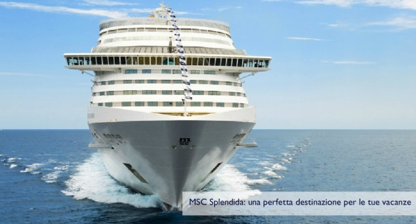 msc splendida prua